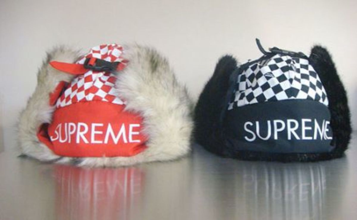 Supreme - Check Trooper Winter Hat - 0