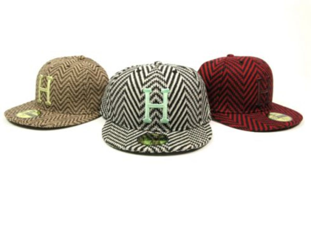 HUF x New Era - Houndstooth Hats - 0
