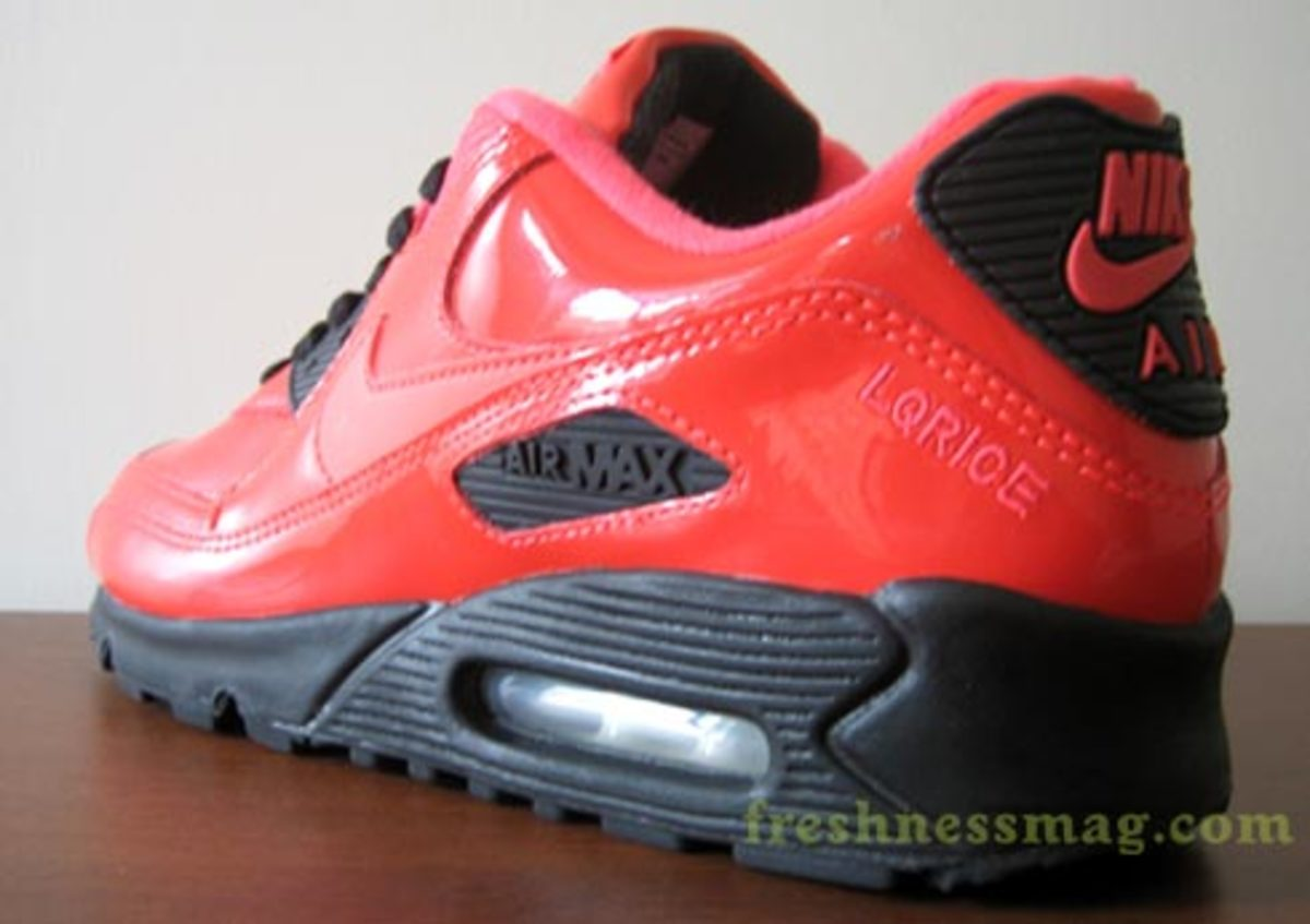 Liquidrice Air Max 90 iD - Full patent Infrared - 0