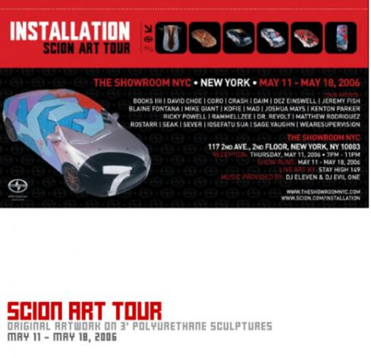Scion Art Tour: Installation 3 @ The Showroom NYC - 1