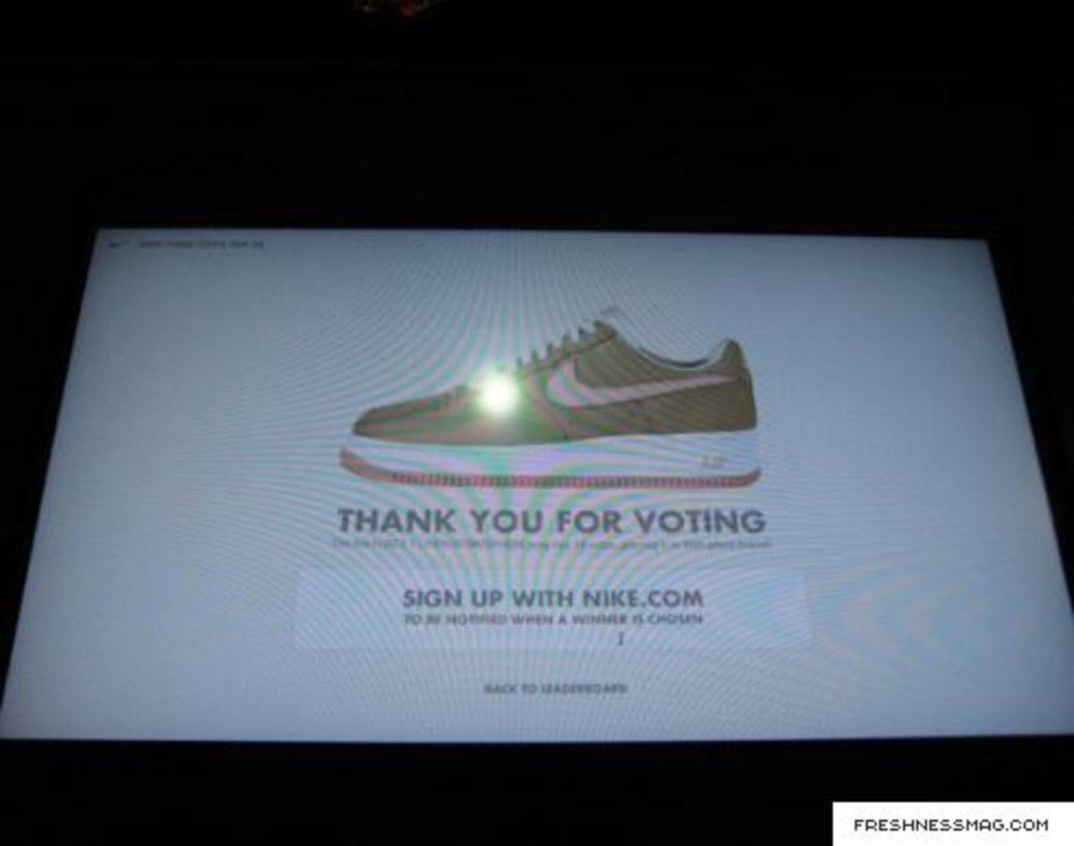 Nike Air Force 1 - 1Vote - New York City