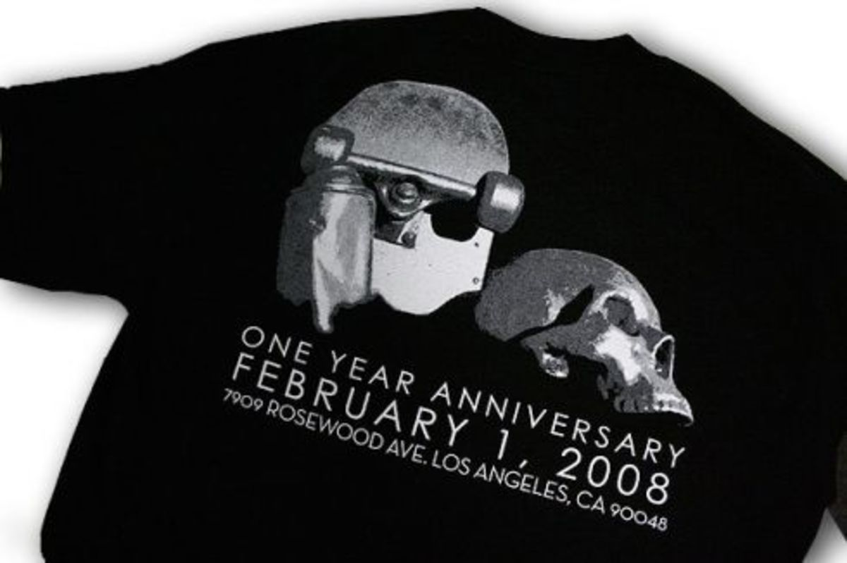 The Hundreds - 1 Year Rosewood Anniversary Tee - 2