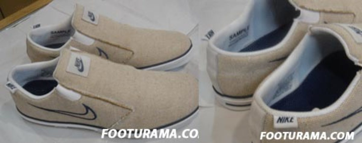 Nike  Canvas Slip Ons - 1