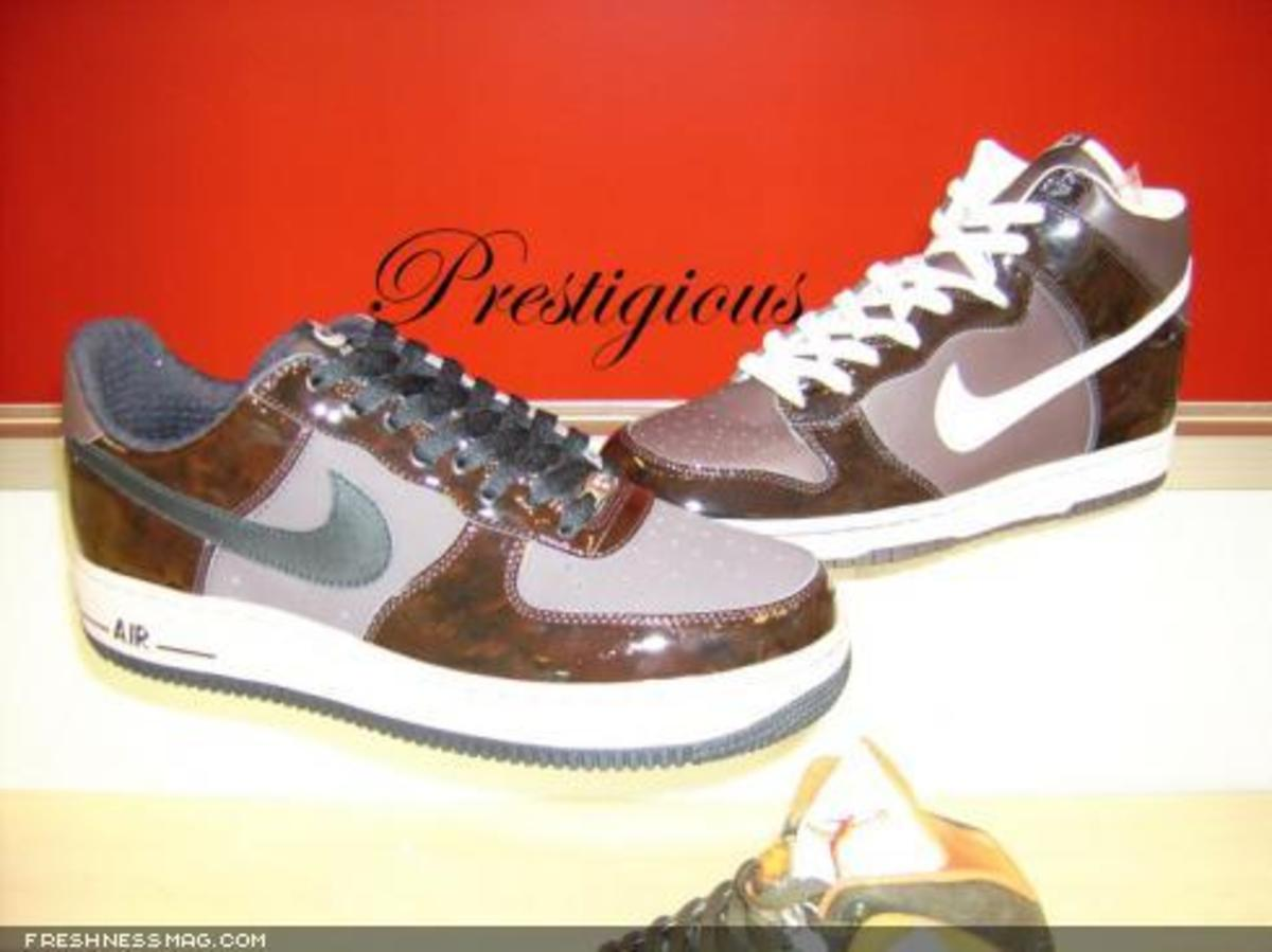 Nike Woodgrain Pack - Dunk High + Air Force 1 - 0