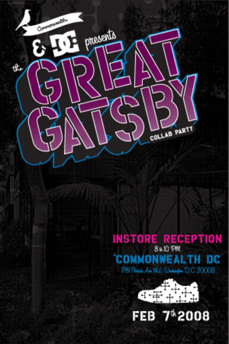 Commonwealth x DC Shoes - Great Gatsby Collab Party - 0