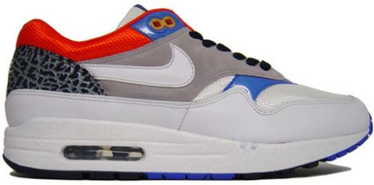 Nike Air Max 1 - Friendly Football Pack White/Blue-Orange