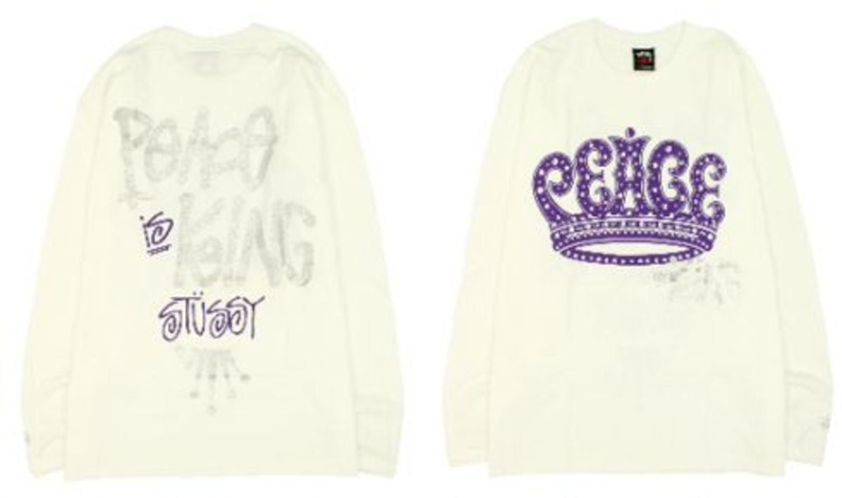 Stussy x Benny Gold - Peace Is King Sweatshirt - 0