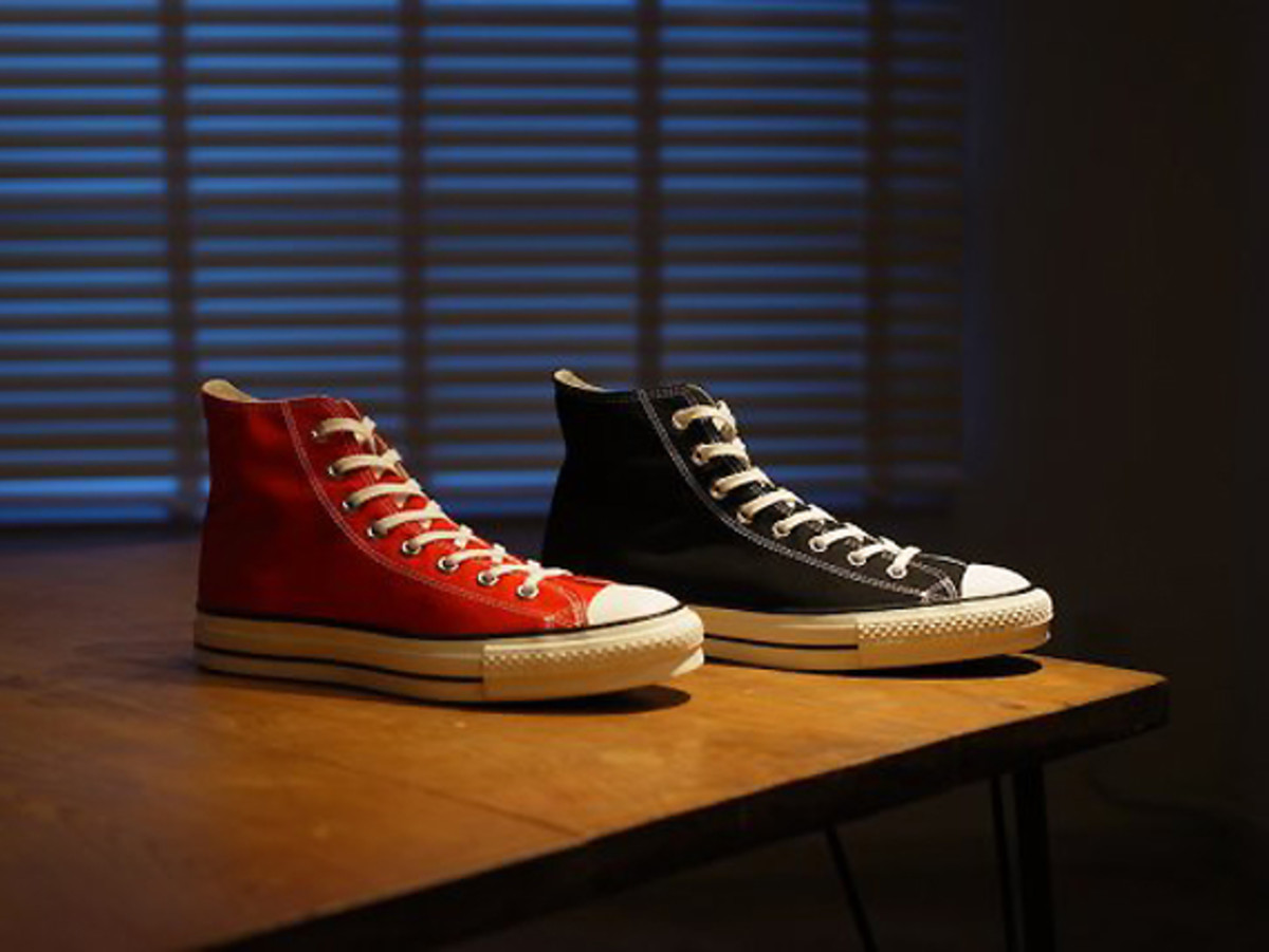 Converse Canvas All Star J Hi Ox Made In Japan