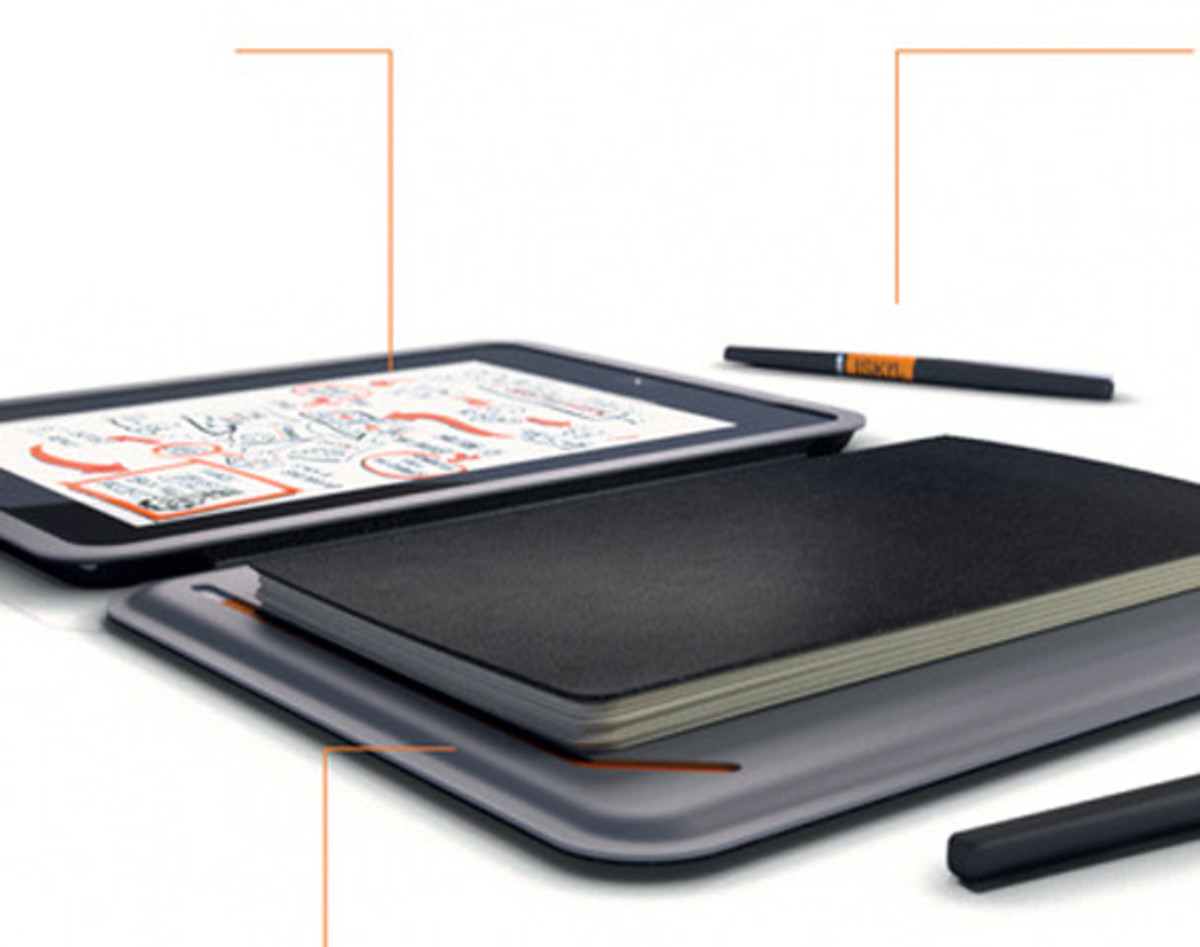 iSketchnote - Smart iPad Cover: Digitizing Technology Meets Notebook Ease - 0