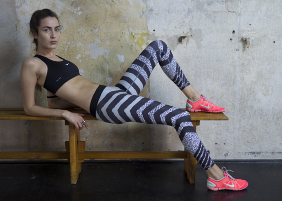 Nike Tight of the Moment - Zebra Knit - 1