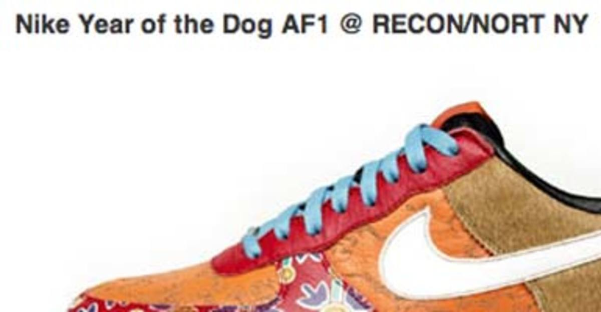 Nike Year of the Dog AF1 @ RECON/NORT NYC - 0