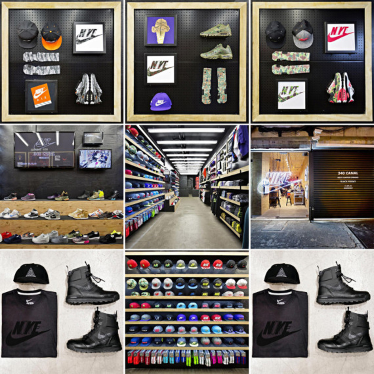 Nike 340 Canal Street Pop-Up Shop – Major Re-Stock For Black Friday