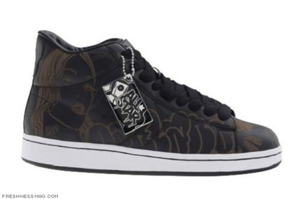 Converse Pro Leather by Psycho + Mike Giant - 1