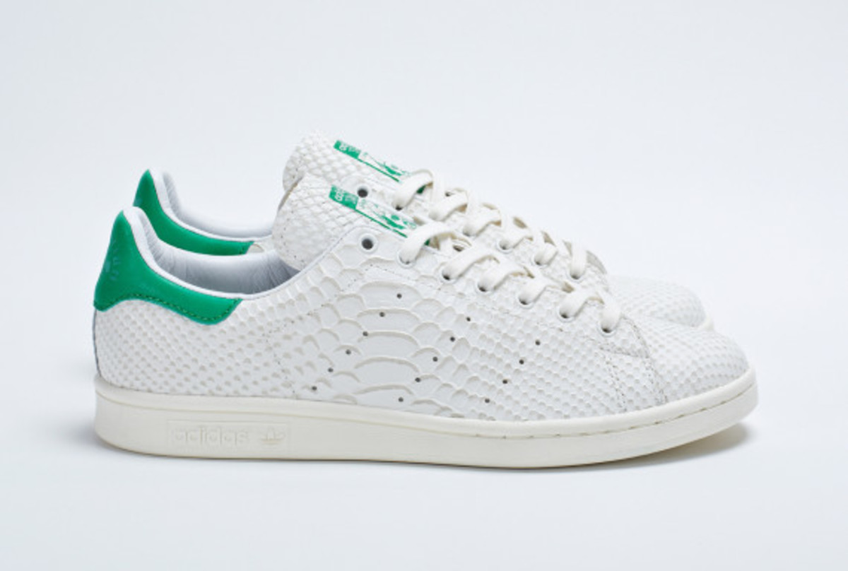 outlet store b8c25 75e66 adidas Consortium Stan Smith - Reptile Leather - Freshness Mag