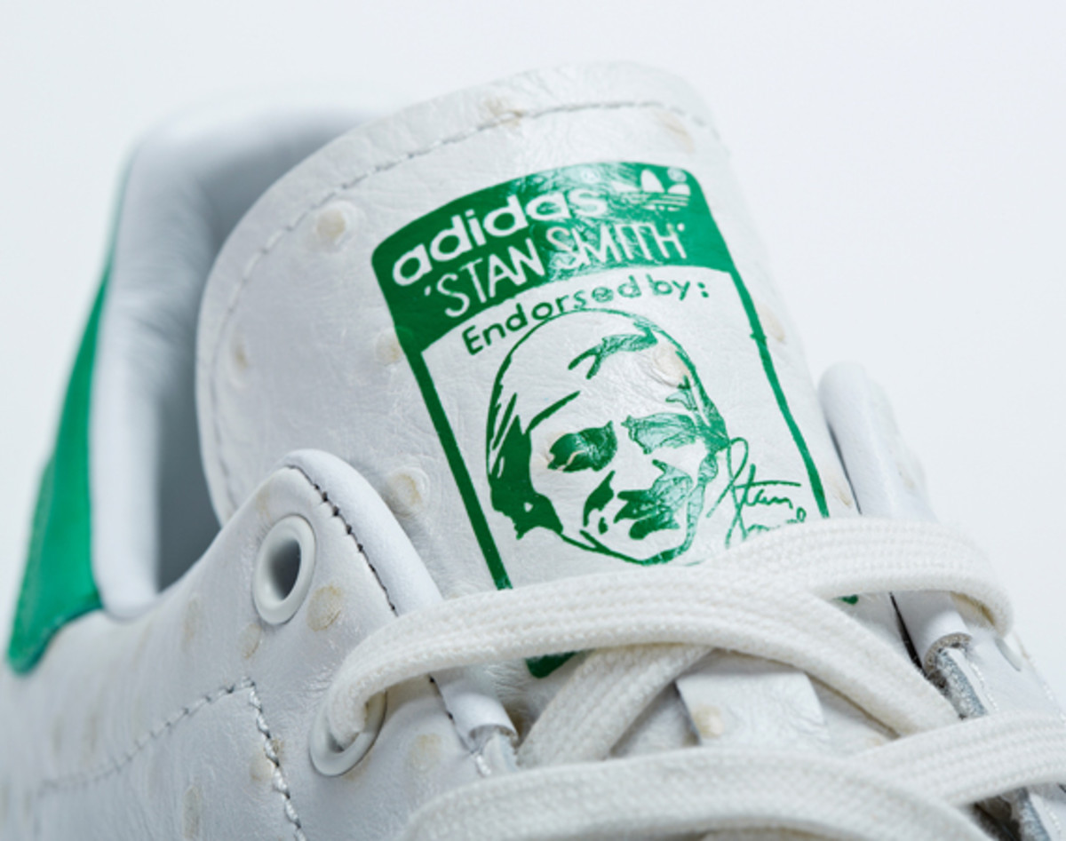 adidas Consortium Stan Smith Ostrich Leather Freshness Mag