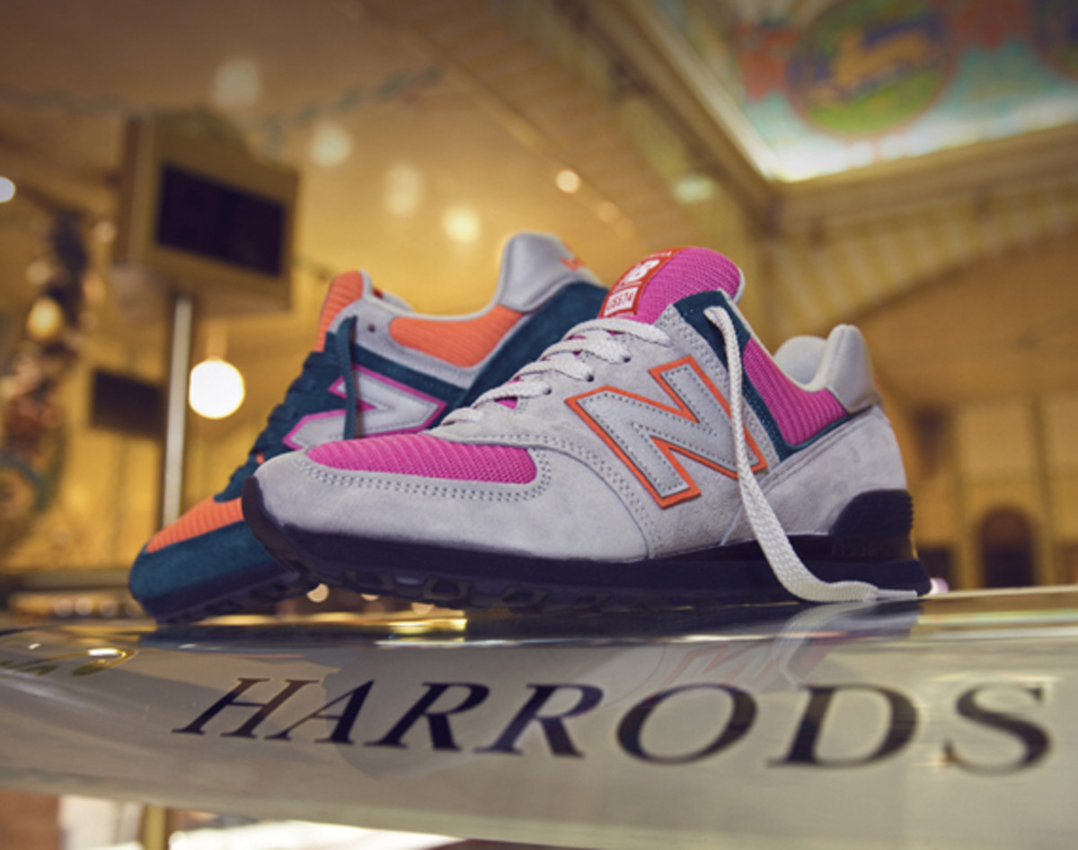 Size  Harrods x New Balance 574 Collection - Freshness Mag ab64974b80