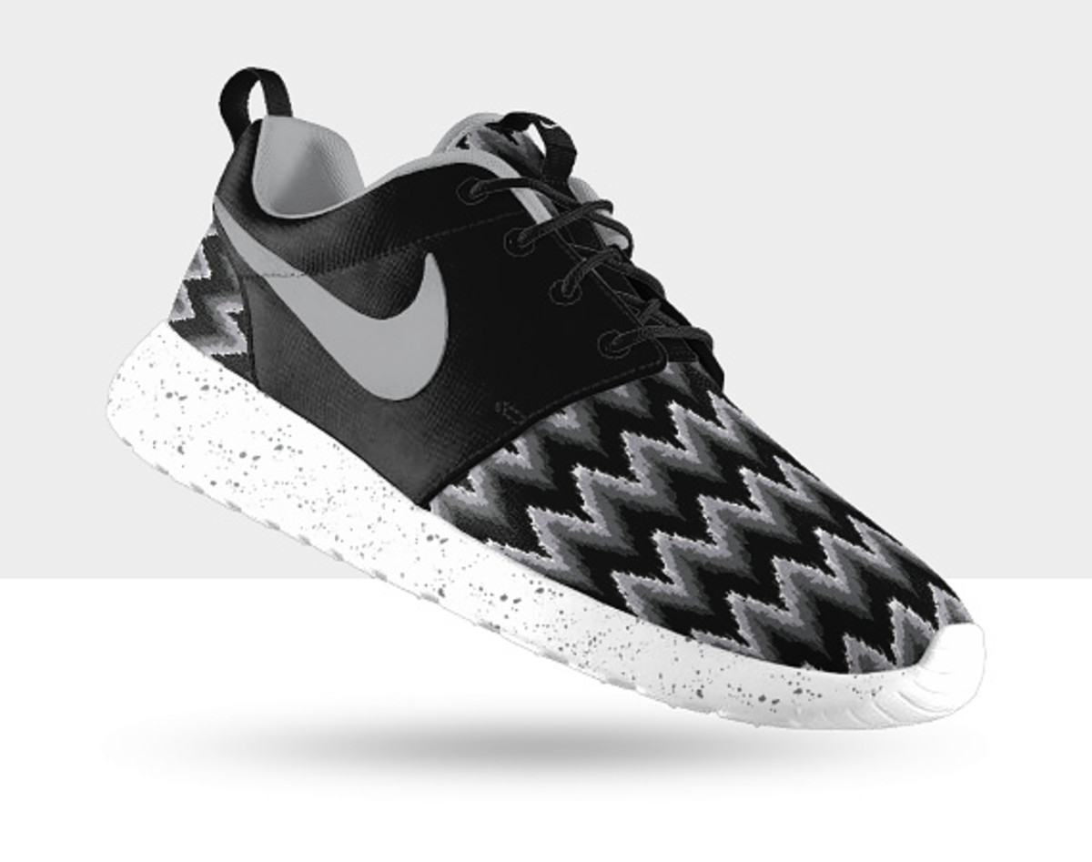 NIKEiD Roshe Run iD �C Graphic Pattern Options - Freshness Mag
