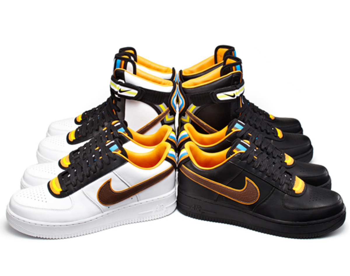 the best attitude d1164 6ee46 Riccardo Tisci x Nike Air Force 1 - Black Collection