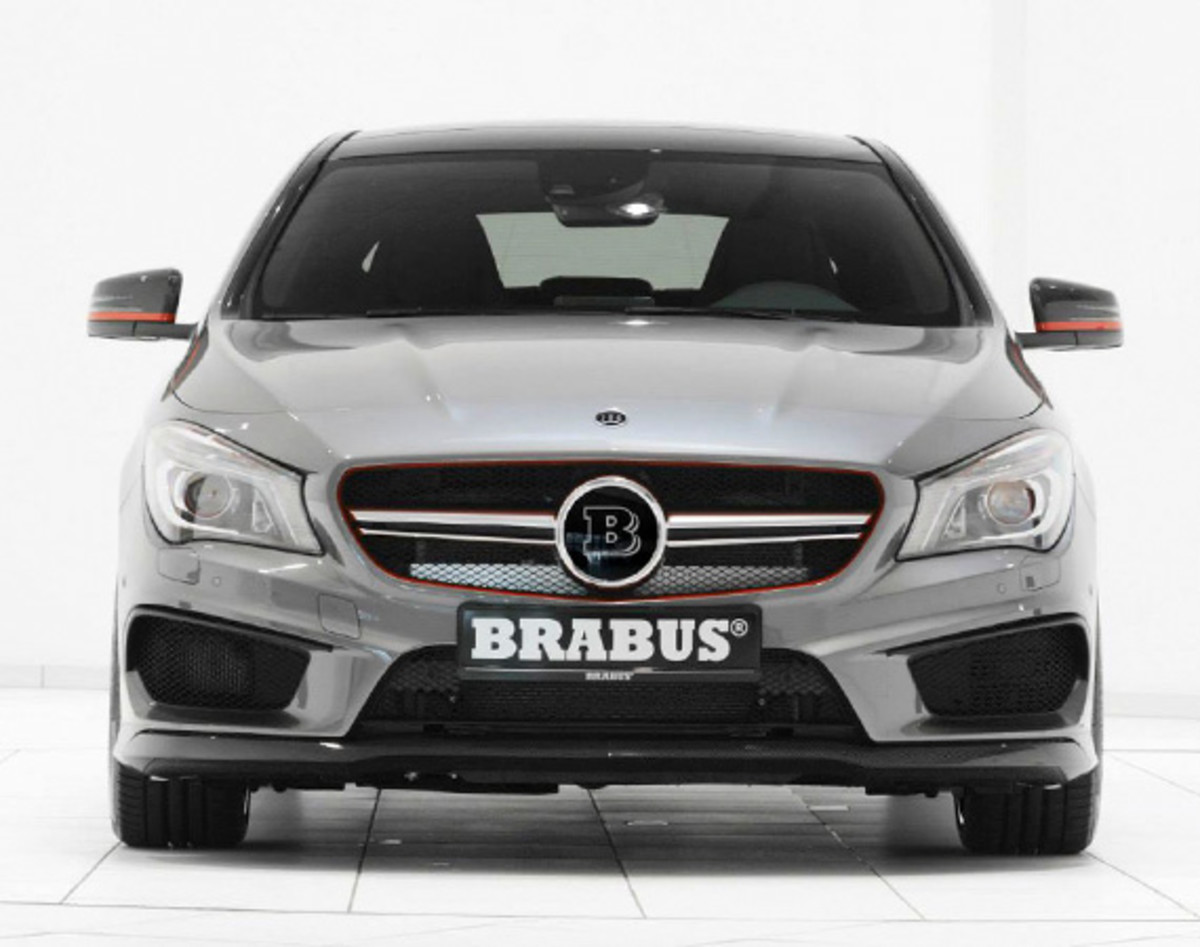 mercedes benz cla45 amg new tuning kit by brabus. Black Bedroom Furniture Sets. Home Design Ideas