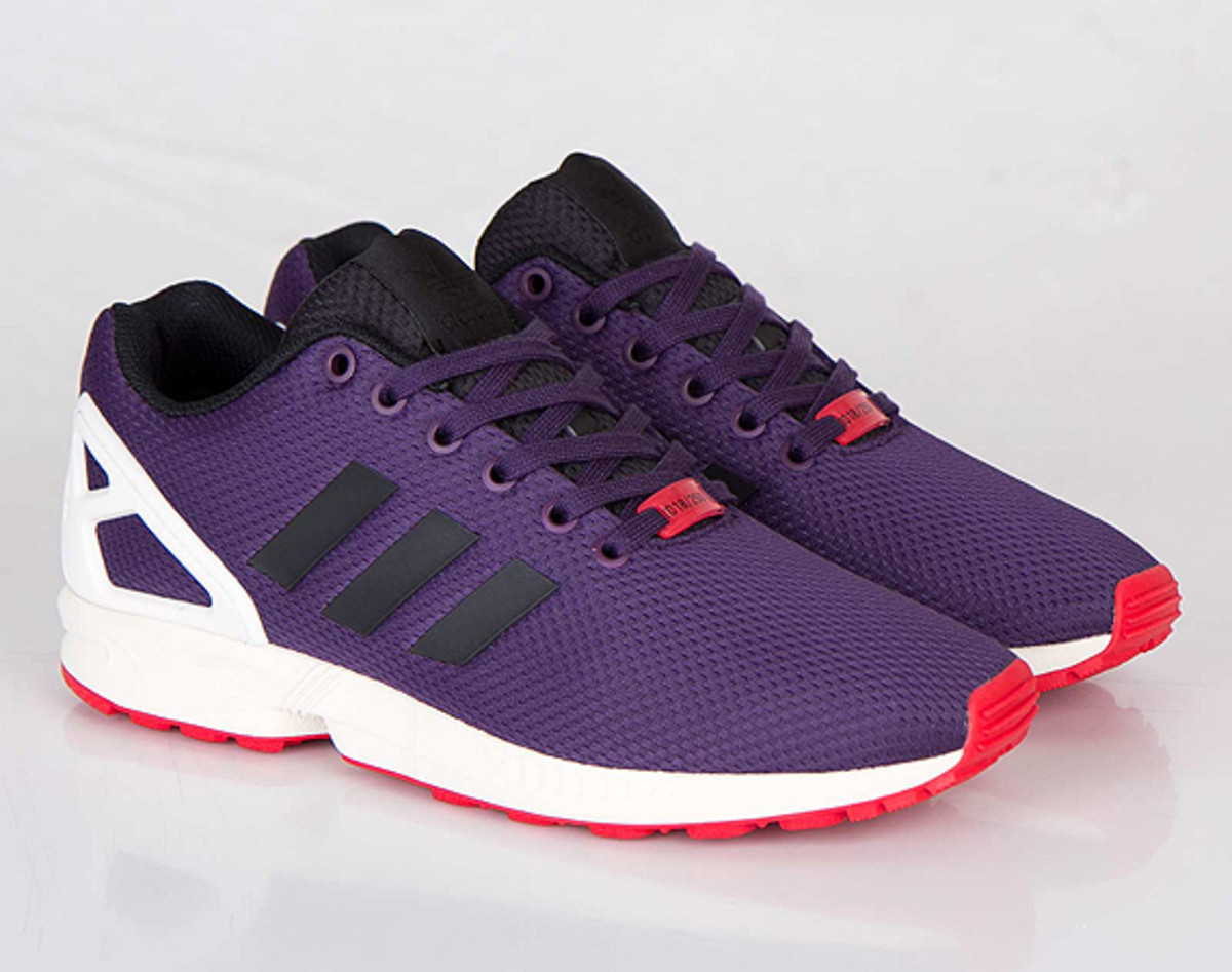 meilleur service 48261 aa473 adidas Originals ZX Flux - Dark Violet/Black/Chalk ...