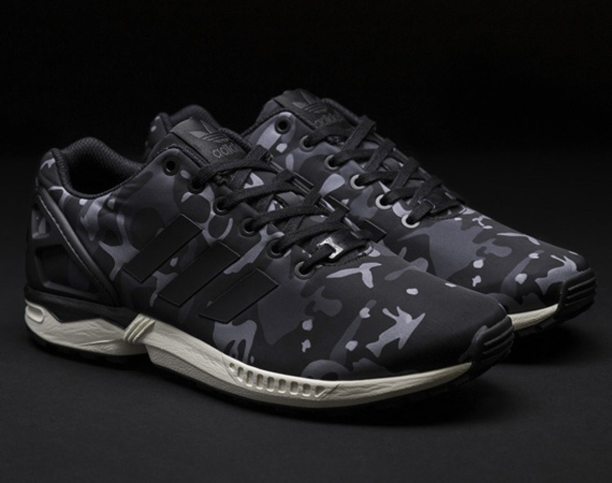 adidas zx flux dames camouflage