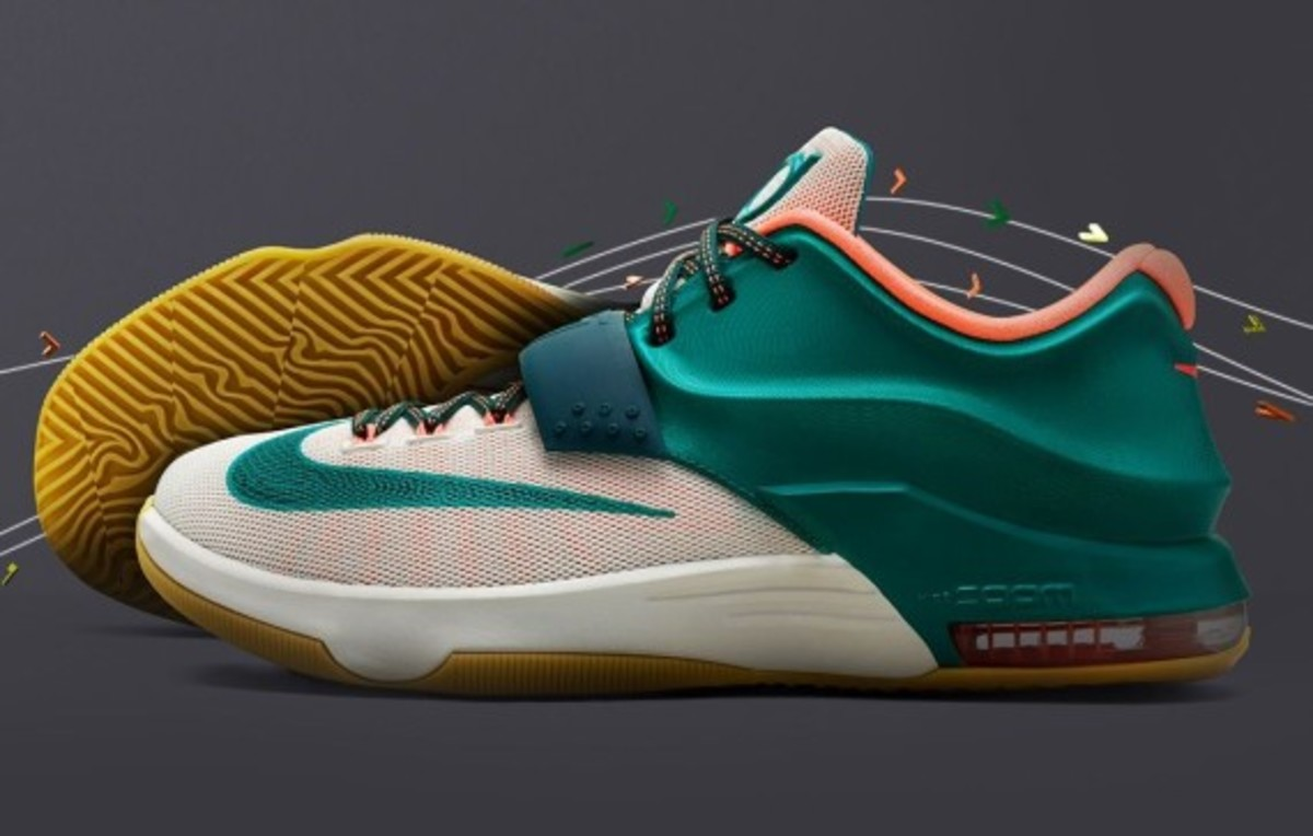 the latest 6c689 60db7 ... italy nike kd 7 easy money style 653996 330. color mystic green light  brown 7c2fd ...
