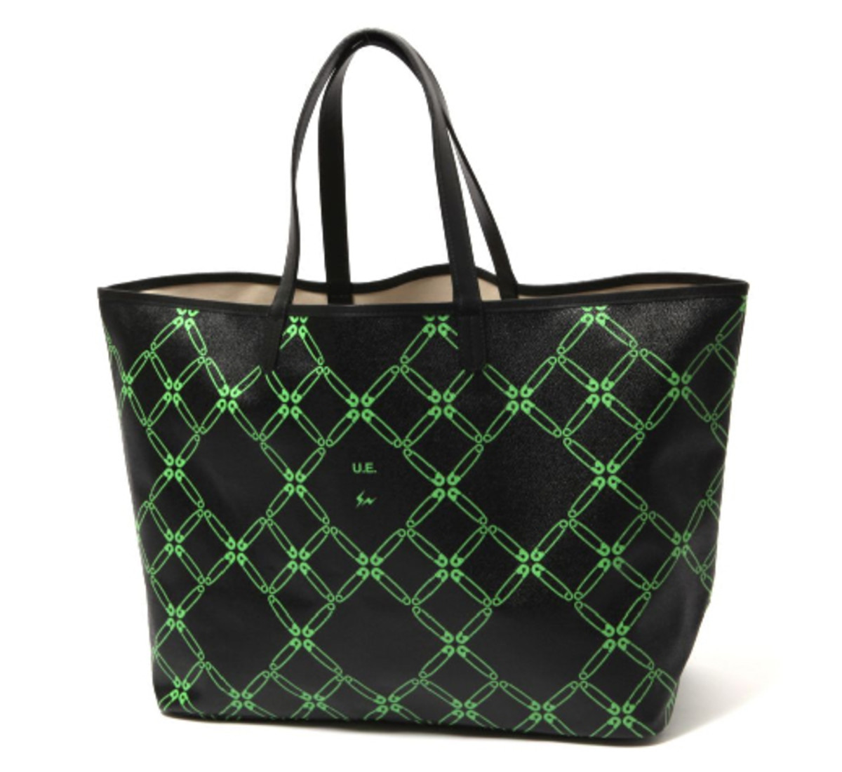 uniform-experiment-chain-link-tote-green