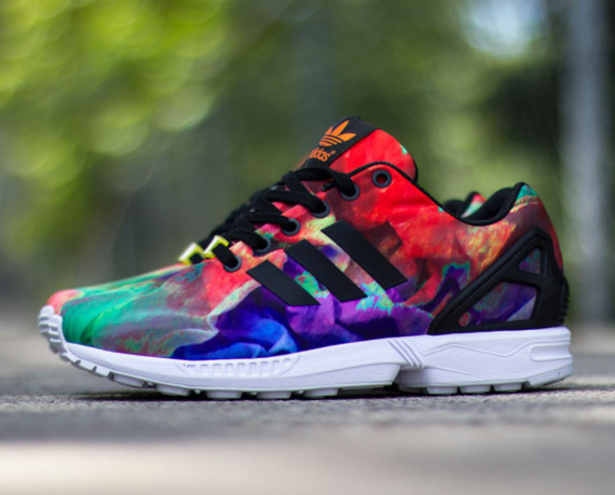 """new concept c83de 0cd4c Like the town its named after, the adidas ZX Flux """"St. Tropez"""" drew on all  of the essential characteristics the famous French Riviera destination that  is a ..."""