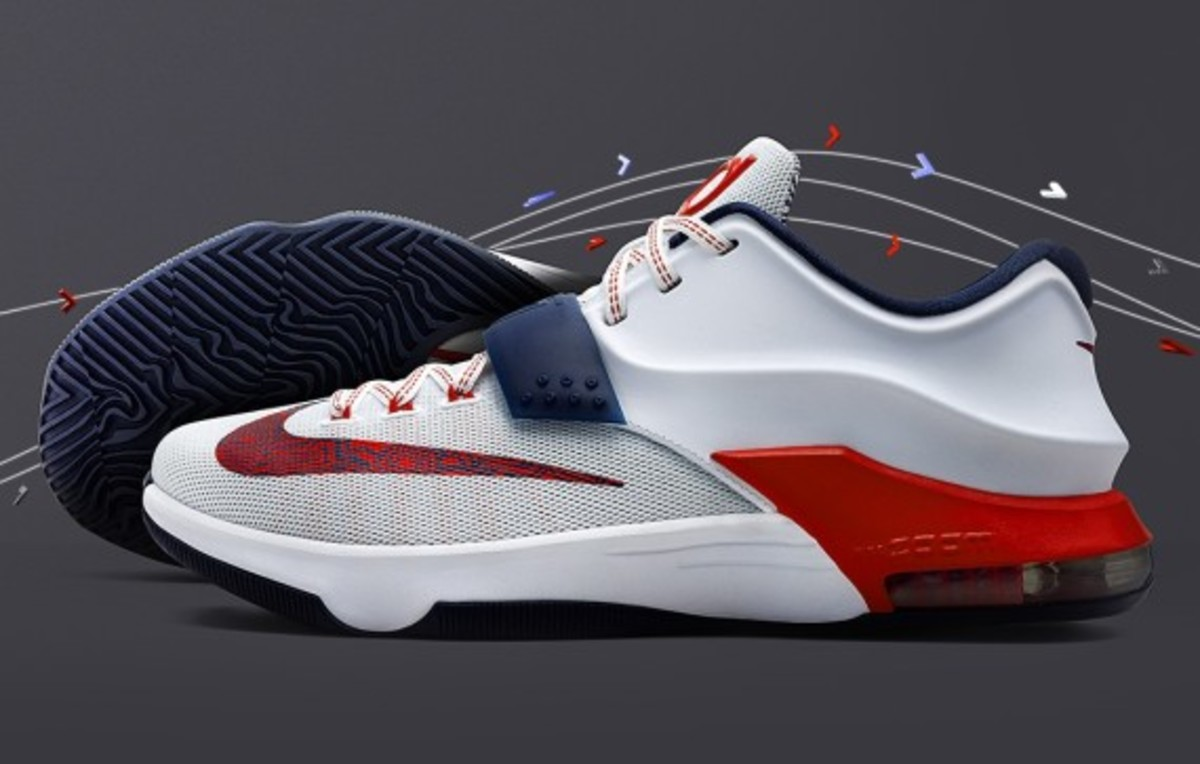c8b9a9baf11a cheapest nike kd 7 usa style 653996 146. color white university red  obsidian 66169 21910