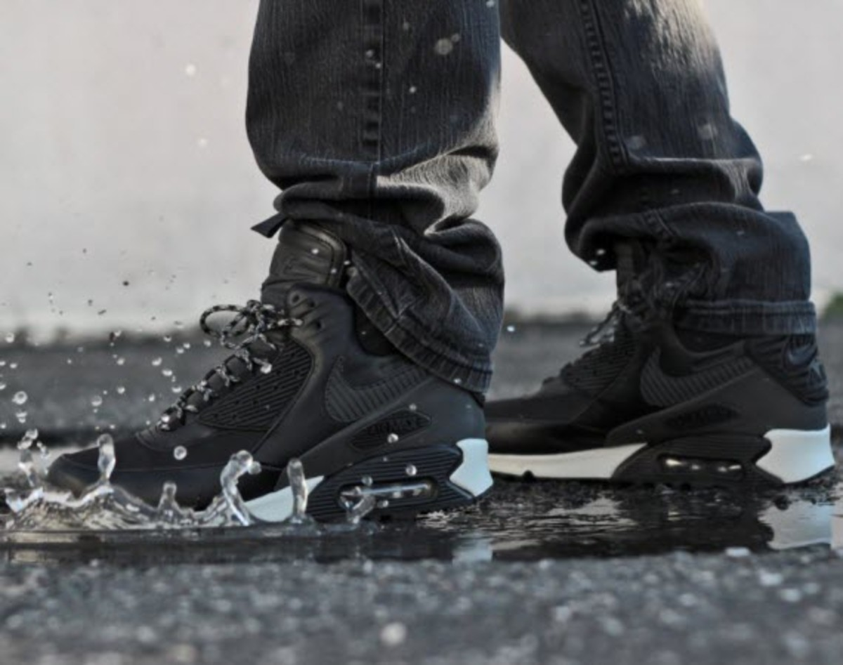 Nike Air Max 90 Winterized Sneakerboot Black Reflective