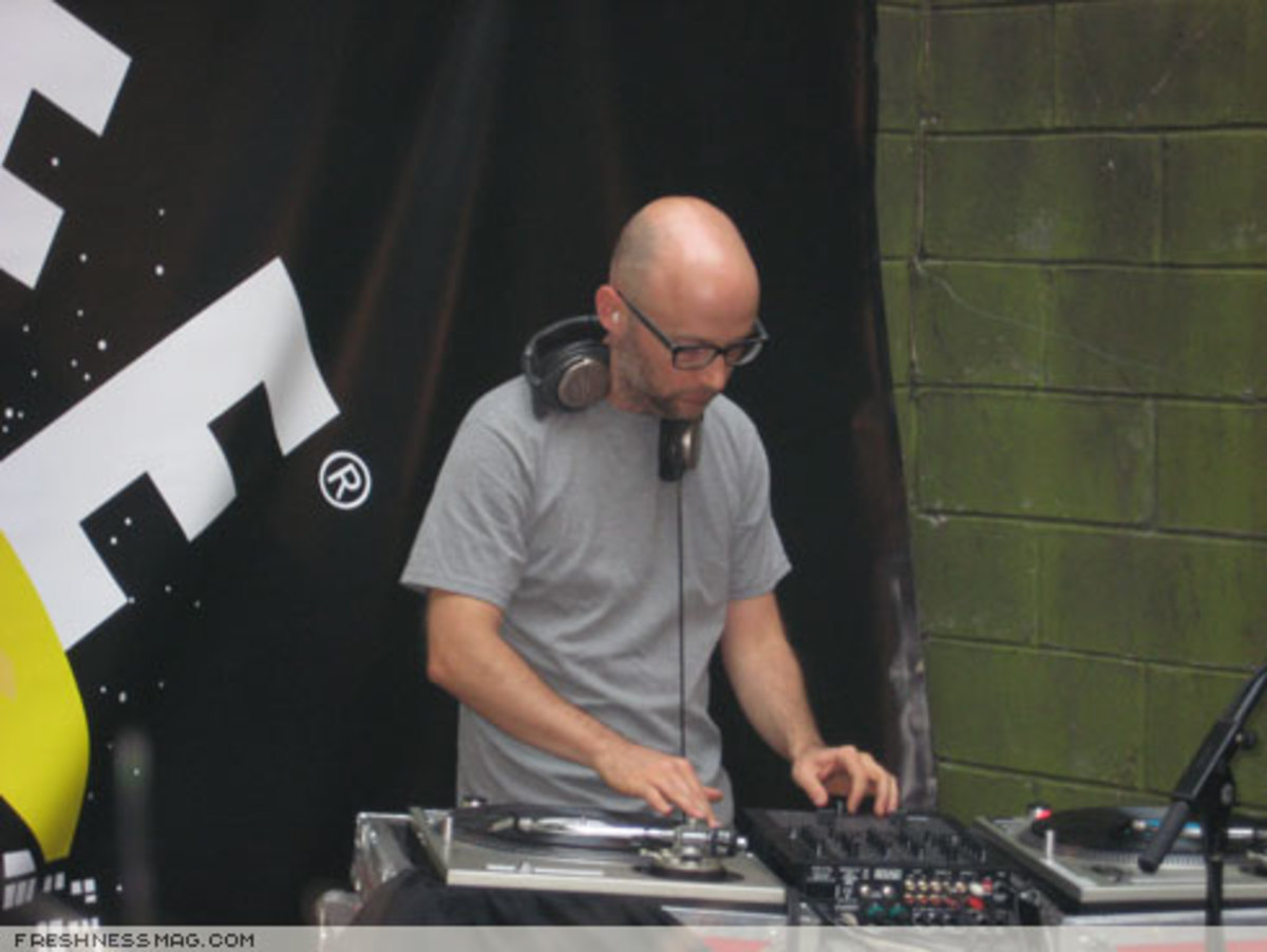 ALIFE Sessions: Moby + Q-Tip - August 18th, 2007 - 8