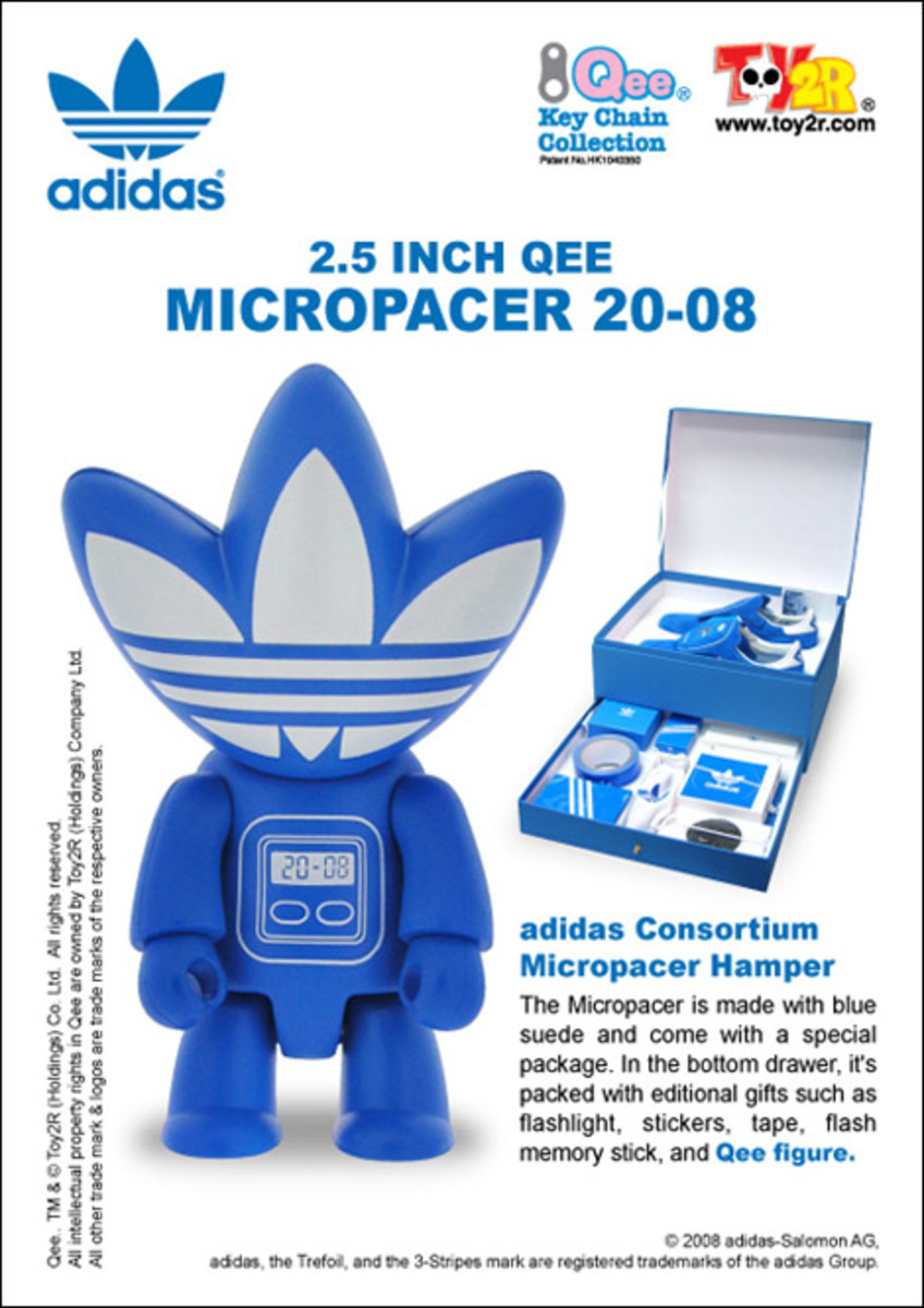Toy2R x adidas Constorium Micropacer 3.5-inch Qee