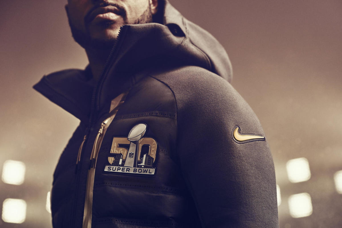 new product 7ce24 c1ee0 Nike Goes for the Gold With Its Apparel Collection for Super ...