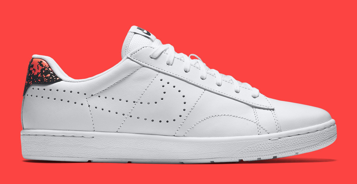 differently 5fde1 4a33c The Nike Tennis Classic Ultra Touched with Hot Lava - Freshness Mag