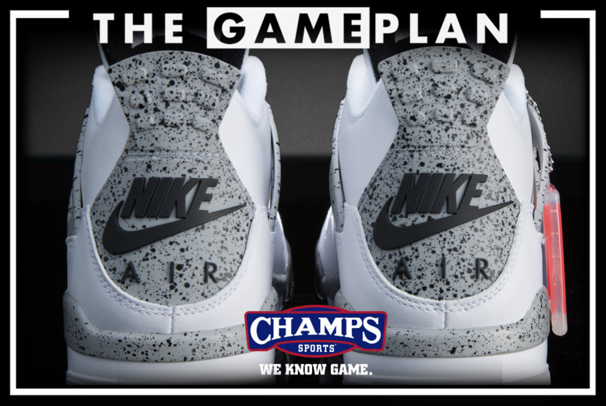 d4244b3edff The Game Plan from Champs Sports Presents the Air Jordan 4