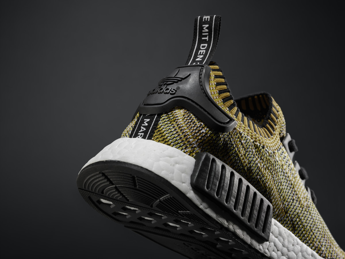 a777f3d5c44a The adidas NMD Runner Primeknit Arrives in a Subdued Yellow Colorway ...