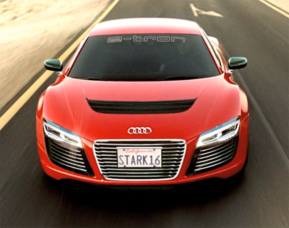 Audi R8 E Tron Ad For Quot Iron Man 3 Quot Freshness Mag
