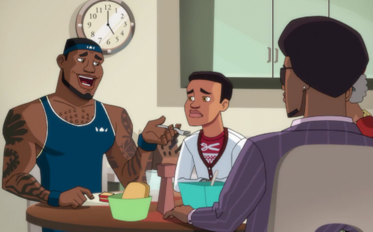 LeBron James Presents The LeBrons Animated Series  Coach  d71b2700d