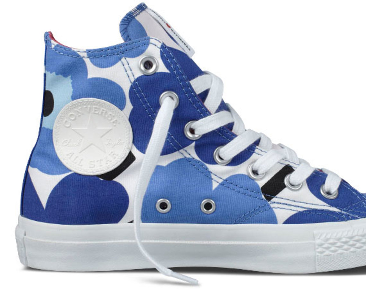 6fa0ee3a932716 Converse and Finnish textile company Marimekko are continuing their  creative partnership into Spring 2012. Marimekko is celebrated for its  colorful original ...