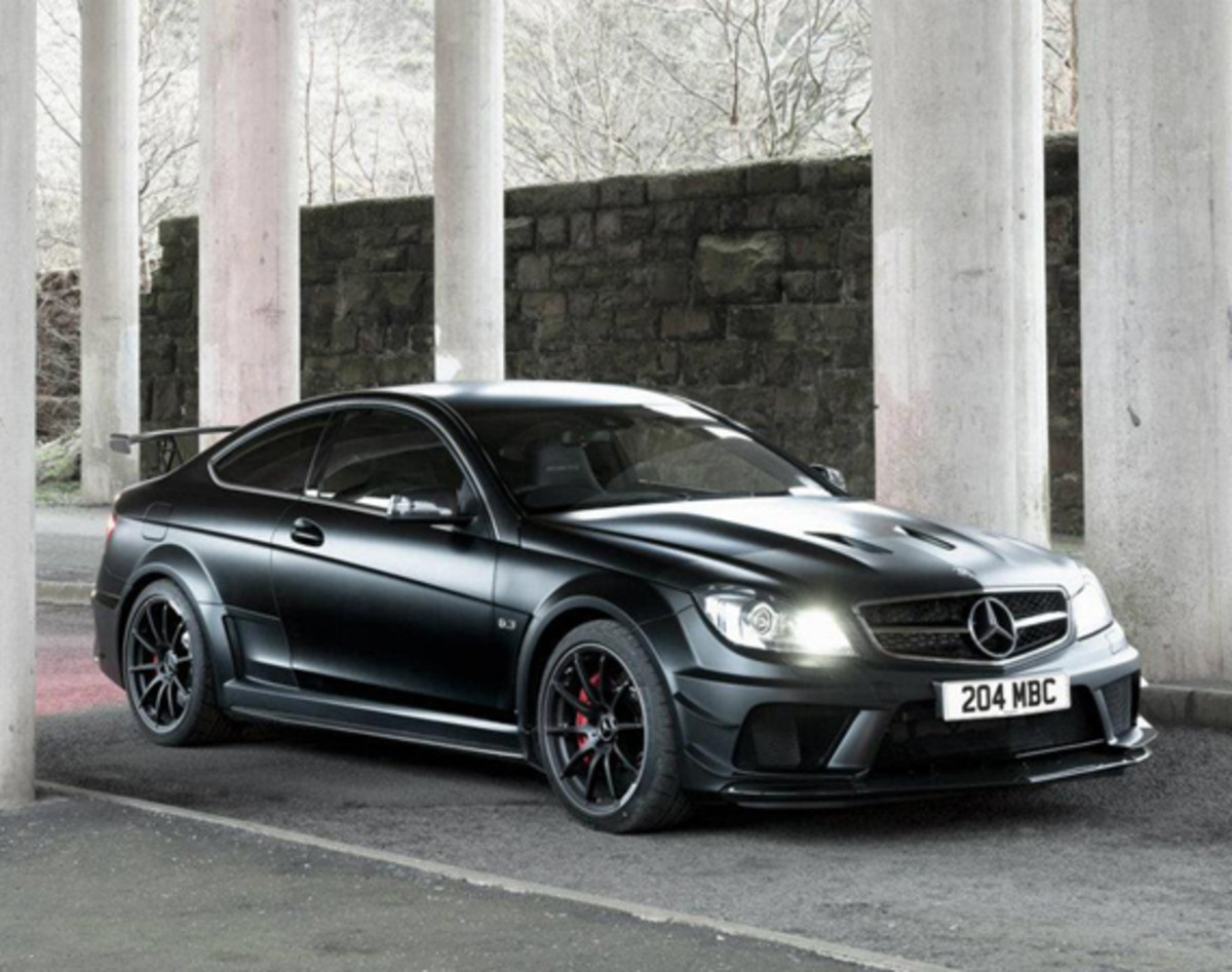 Mercedes benz c63 amg black series edition dark side for Mercedes benz m series