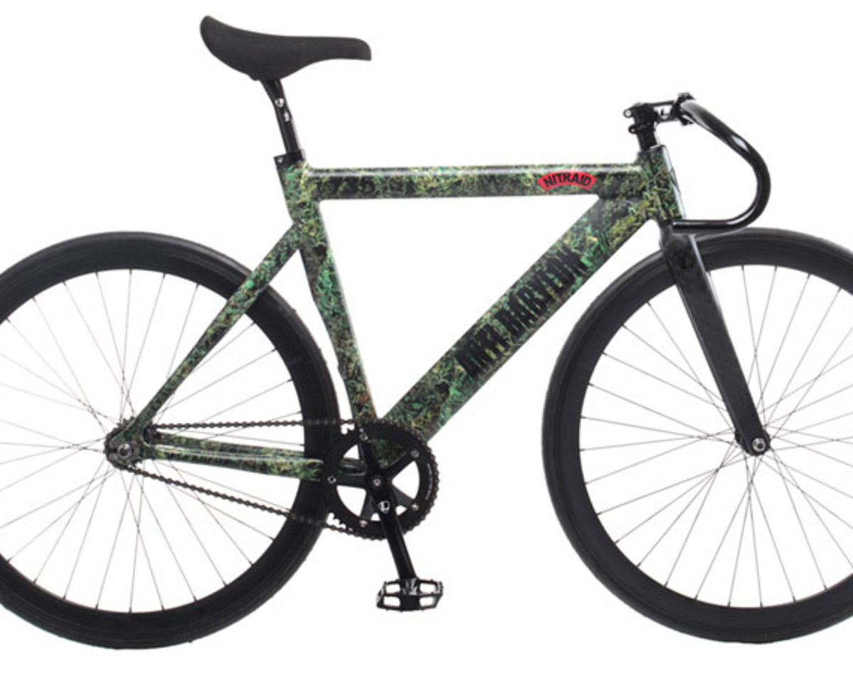Nitraid X Leader Bike 735tr Dope Forest Fixed Gear Bicycle