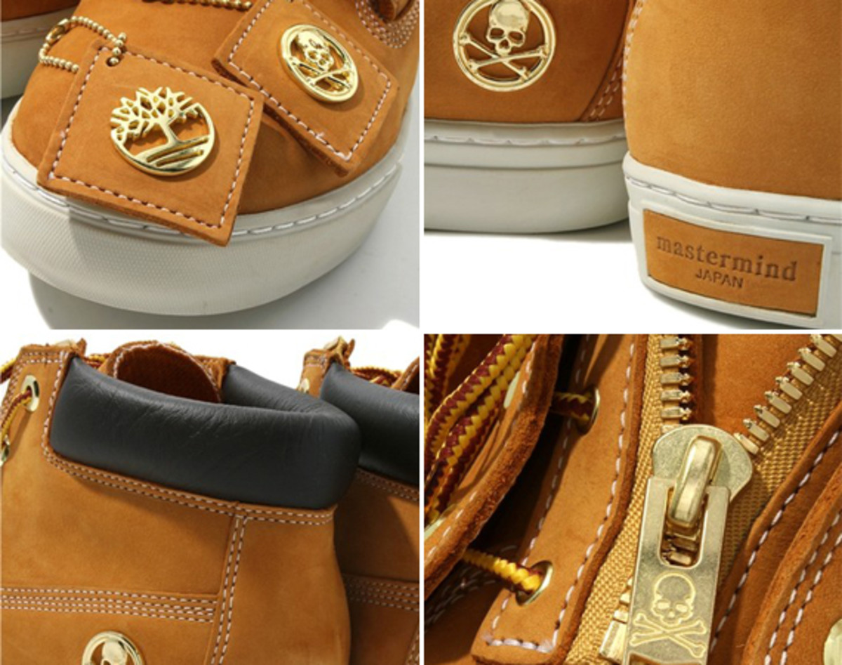 Timberland Boots For Men 2012 mastermind JAPAN x Ise...