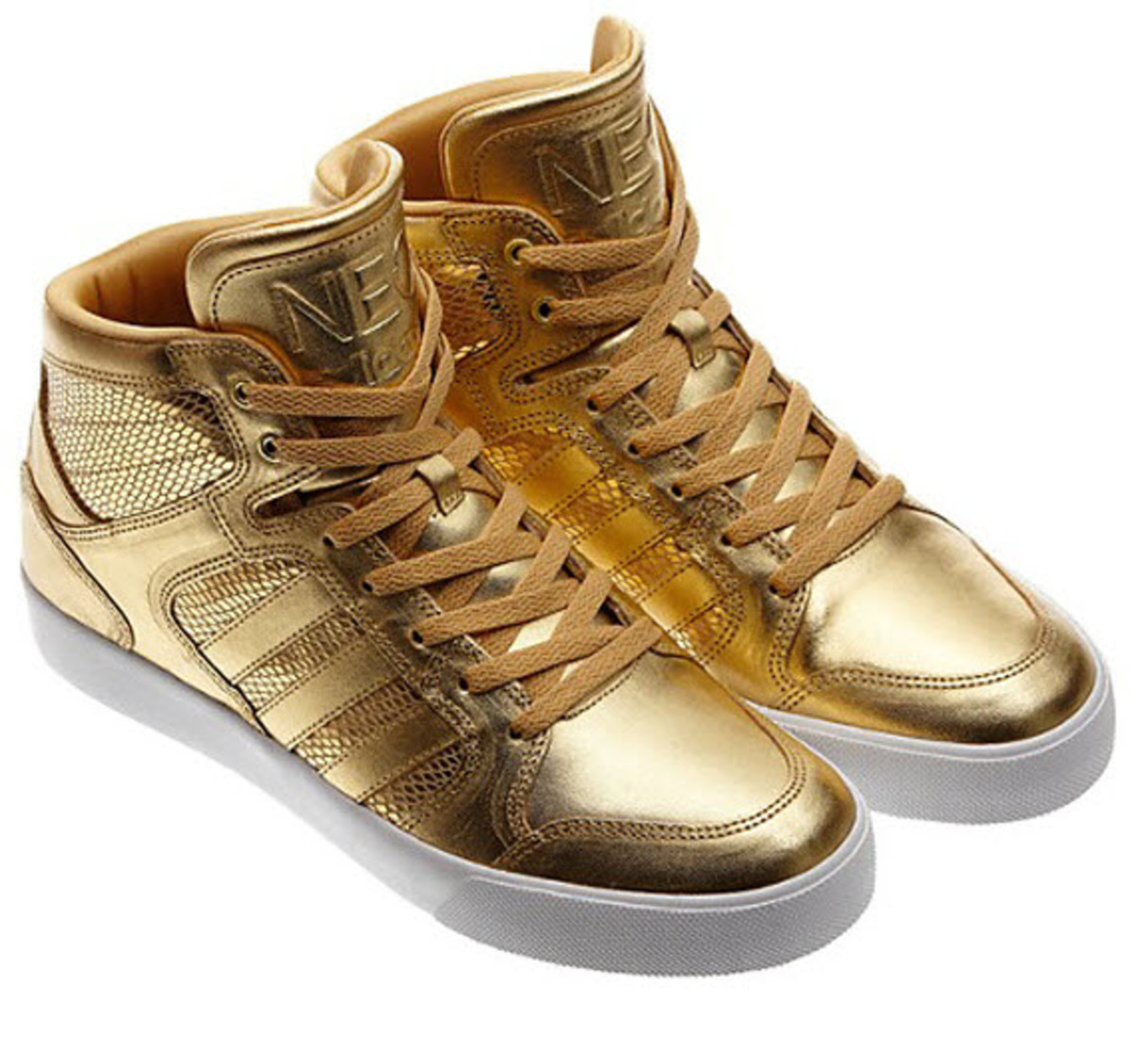 the latest 3ab3b 8334b adidas Neo Gold Shoes