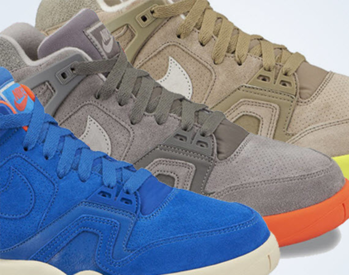 After some time in the shadows, the Nike Air Tech Challenge 2 is making its  way back into the spotlight in the form of three new looks that will be  hard to ...