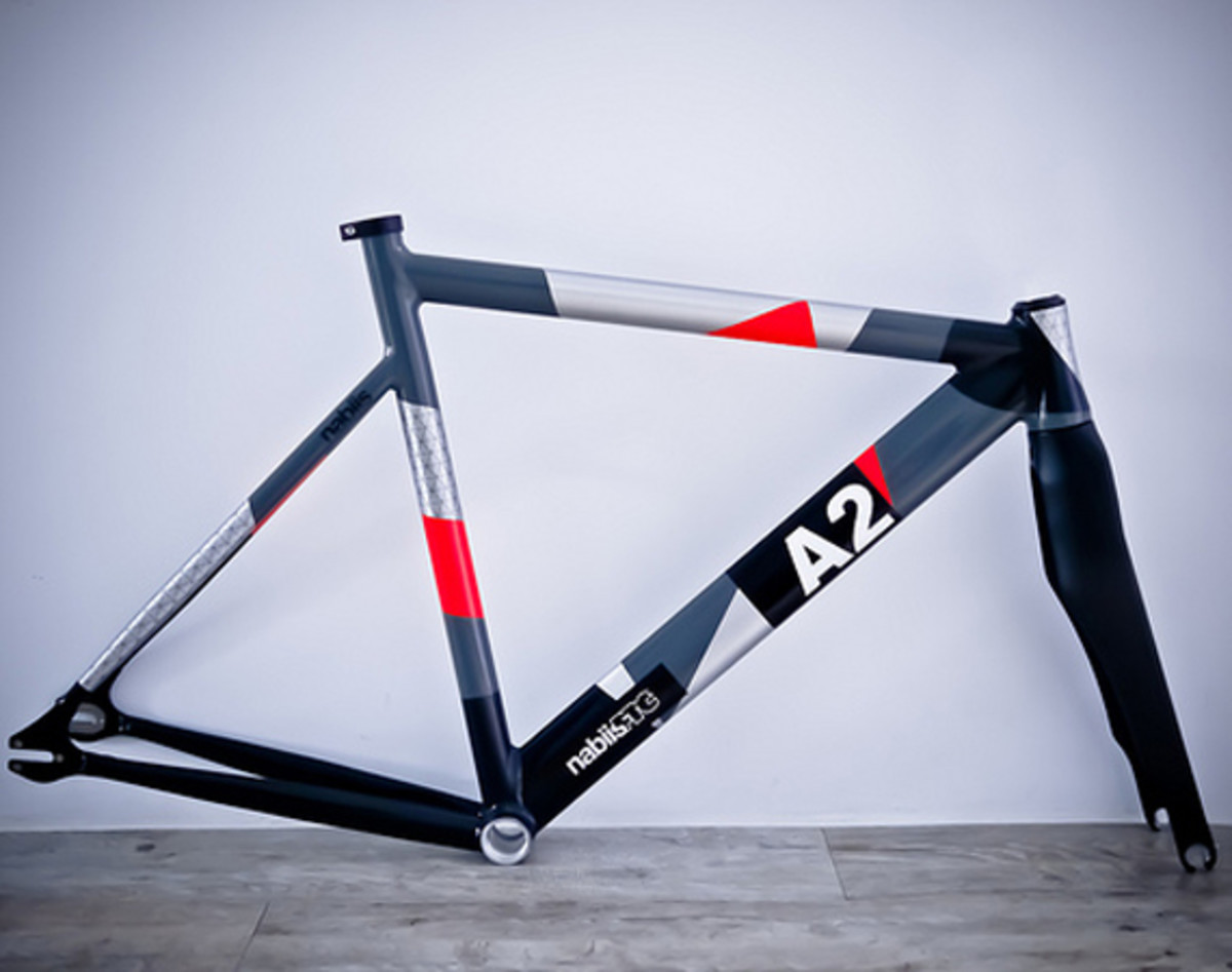 nabiis x FTC - A2 Fixed Gear Bicycle Frame - Freshness Mag