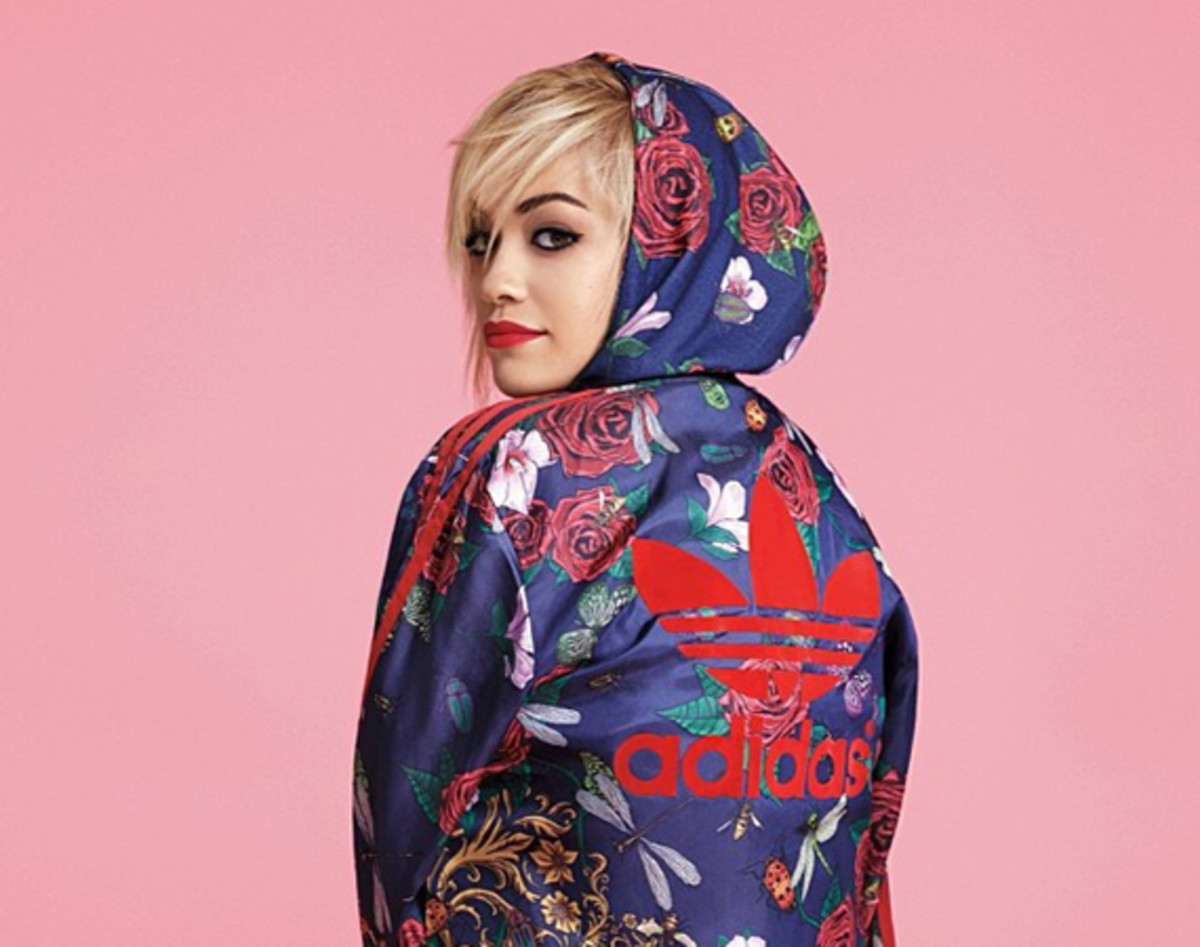 5802c2f54e5 British singer and actor Rita Ora has been seen sporting adidas Originals  lately; however, Ora officially acknowledged the upcoming collaboration  with the ...
