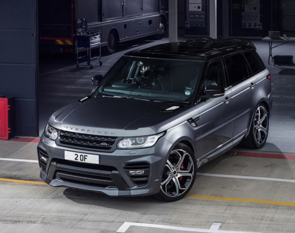 range rover sport tuned by overfinch freshness mag. Black Bedroom Furniture Sets. Home Design Ideas