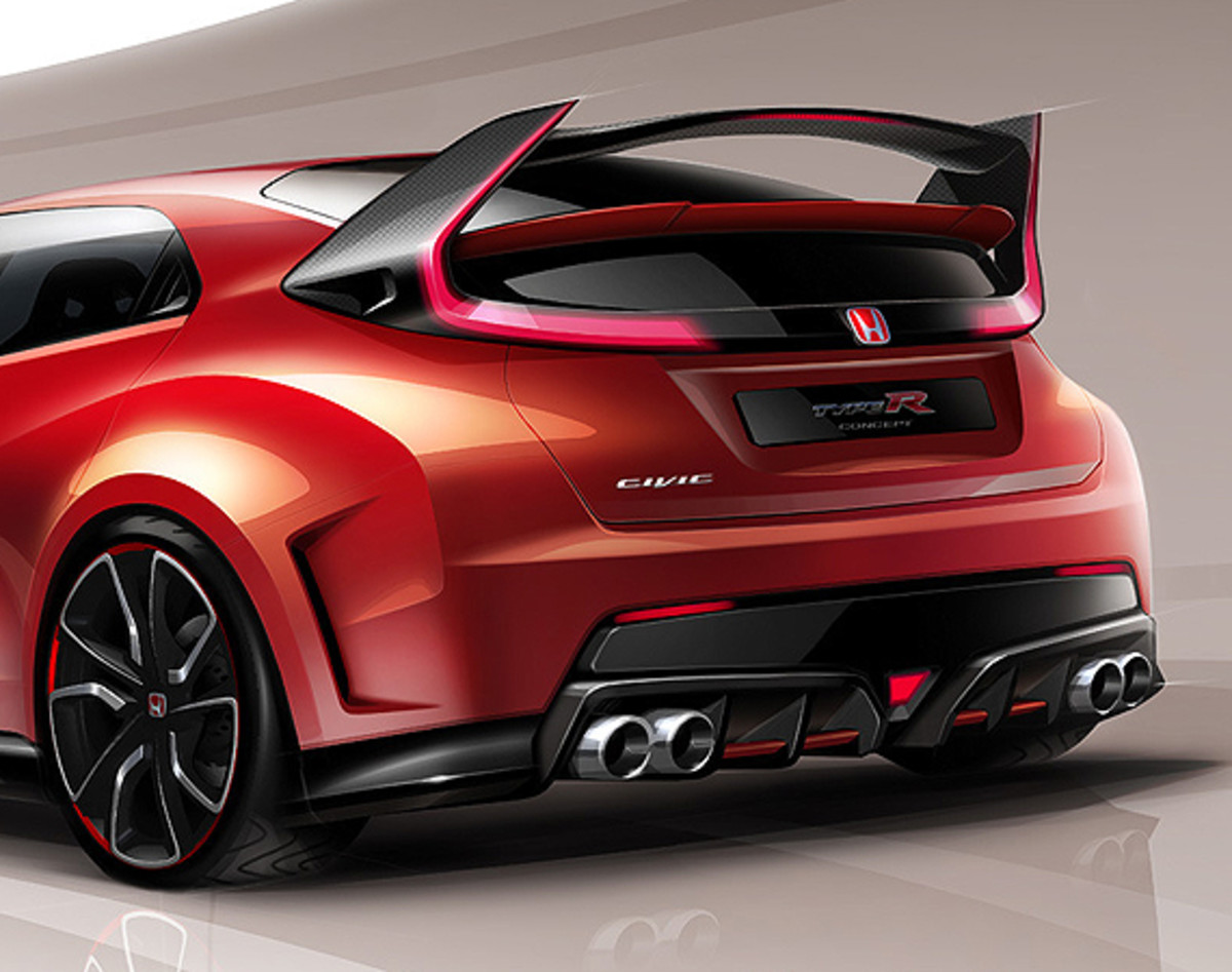 2015 honda civic type r concept preview freshness mag. Black Bedroom Furniture Sets. Home Design Ideas