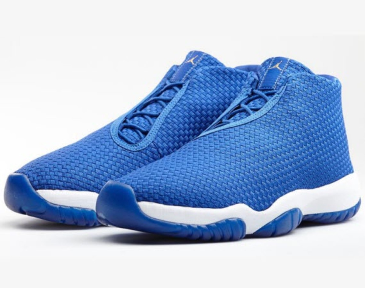 official photos 1a407 a8f11 Perfect for the clear, blue skies that come with this time of year, the  Jordan Brand releases a new take on their Future model. This edition sees a  bright ...