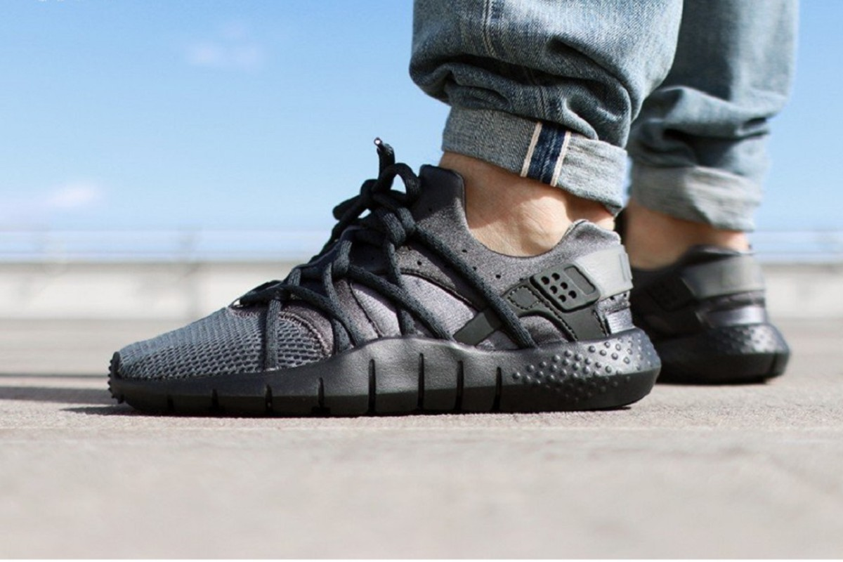 huge discount 5fb25 8264e The Nike Huarache NM is getting treated with another colorway set to drop  in the coming weeks, this time done up in a tonal Dark Grey.